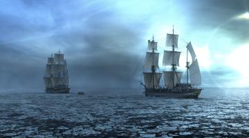 The Terror ships