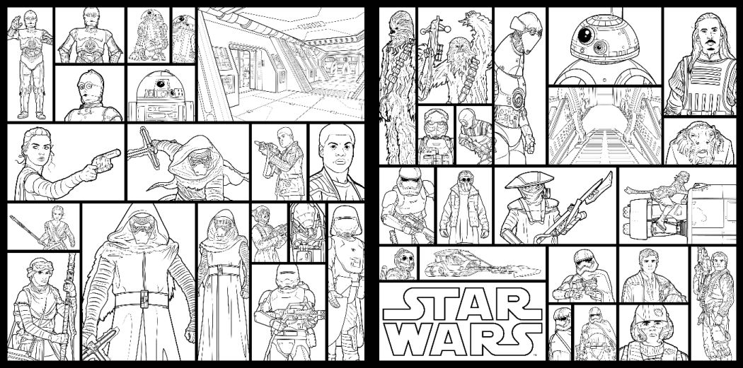Atemberaubend Malbuch Star Wars Galerie - Malvorlagen-Ideen ...