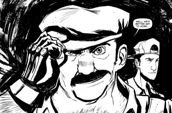 Super Mario Bros 2 The Comic