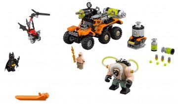 The Lego Batman Movie toy set - Bane Toxic Truck Attack