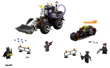 The Lego Batman Movie toy set - Two-Face Double Demolition