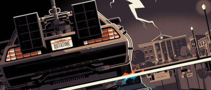 Tom Whalen Back to the Future header