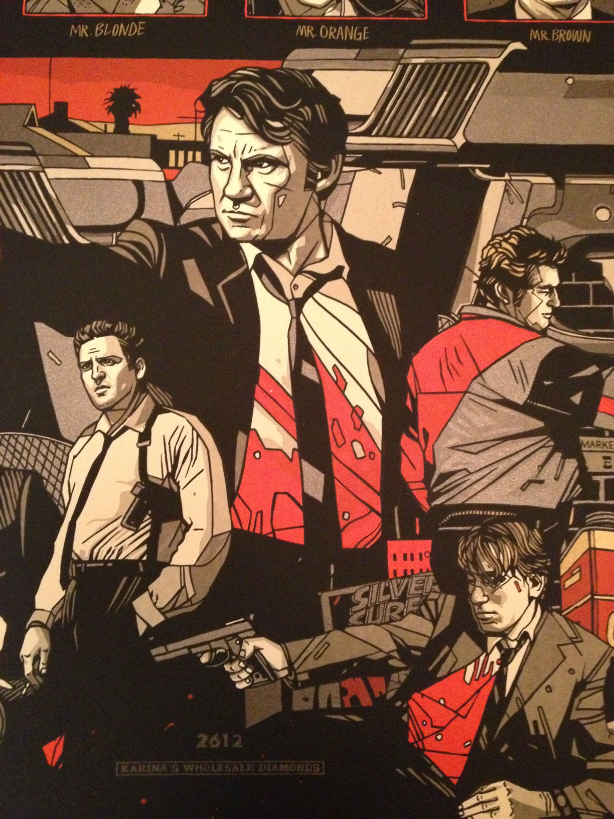 Reservoir Dogs Art