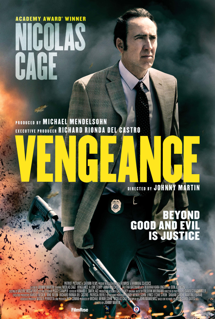 Vengeance A Love Story poster