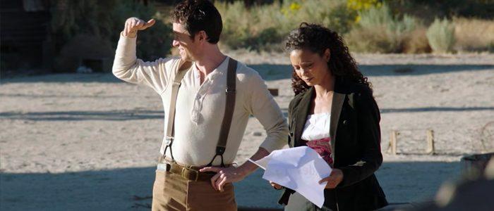Westworld season 2 behind the scenes Maeve Sizemore
