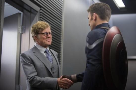 Robert Redford in Captain America: The Winter Soldiuer