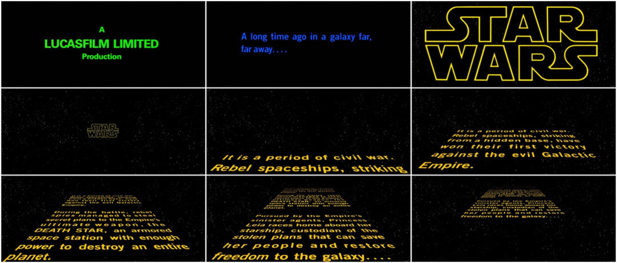 Why A Star Wars Rogue One Opening Crawl Is Needed