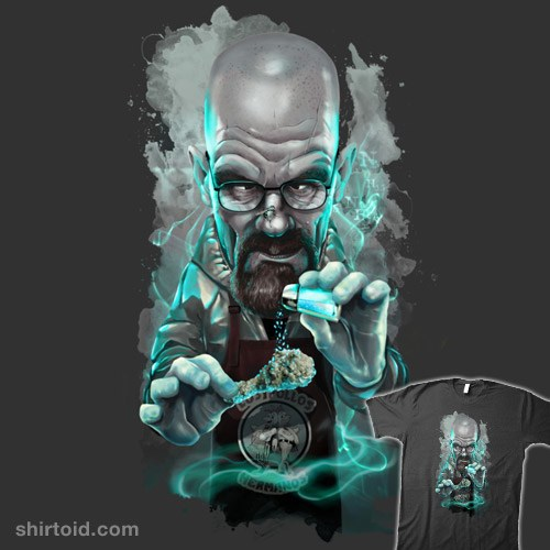 Heisenberg Caricature t-shirt
