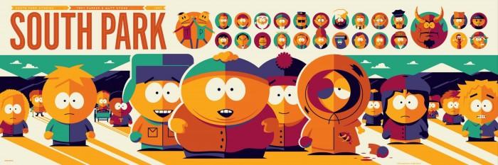 South Park by Tom Whalen