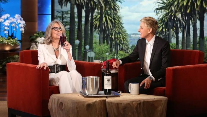 Diane Keaton on ellen