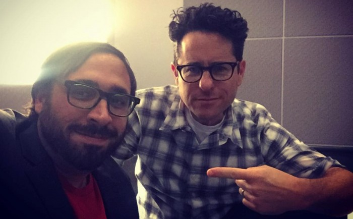 Peter Sciretta and JJ abrams - JJ Abrams Interview: Star Wars: The Force Awakens