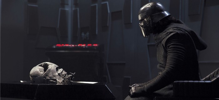 star wars: the force awakens adam driver as kylo ren