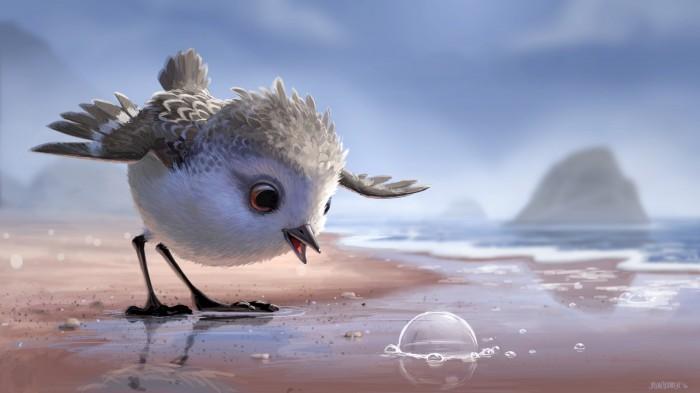 pixar short film Piper