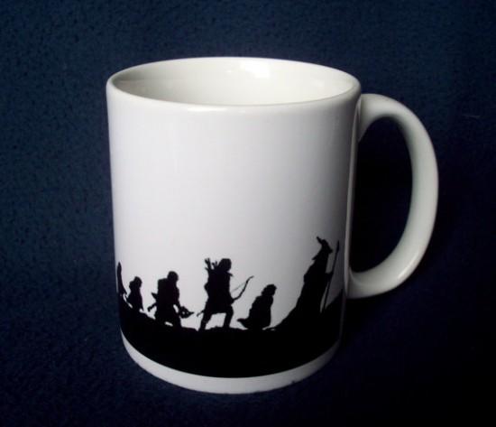 Fellowship Of The Ring Coffee Mug