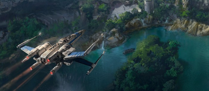 Star Wars Land concept art - The Star Wars Experience