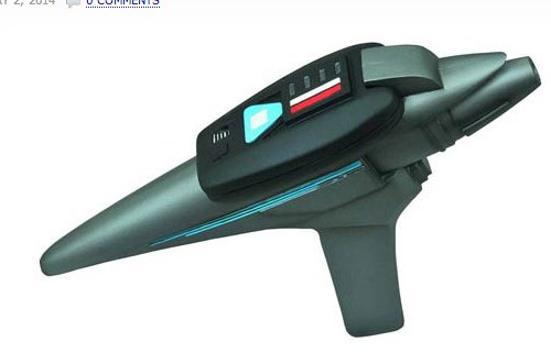 Star Trek III Movie Phaser Light-Up Prop Replica