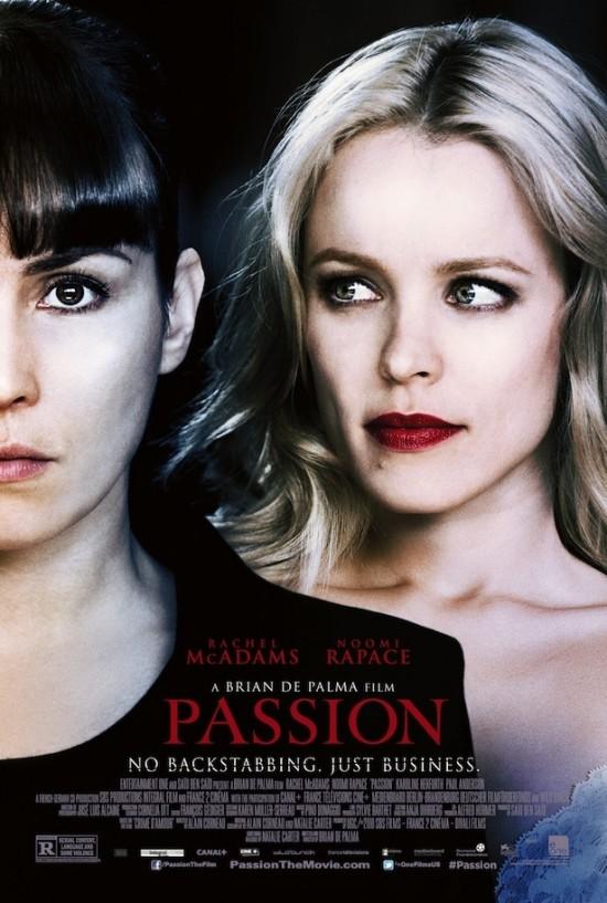 Poster for Brian De Palma's 'Passion'