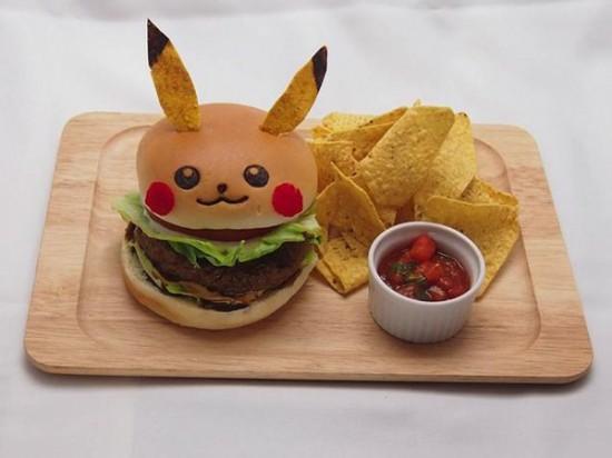 Pikachu-Themed Meals
