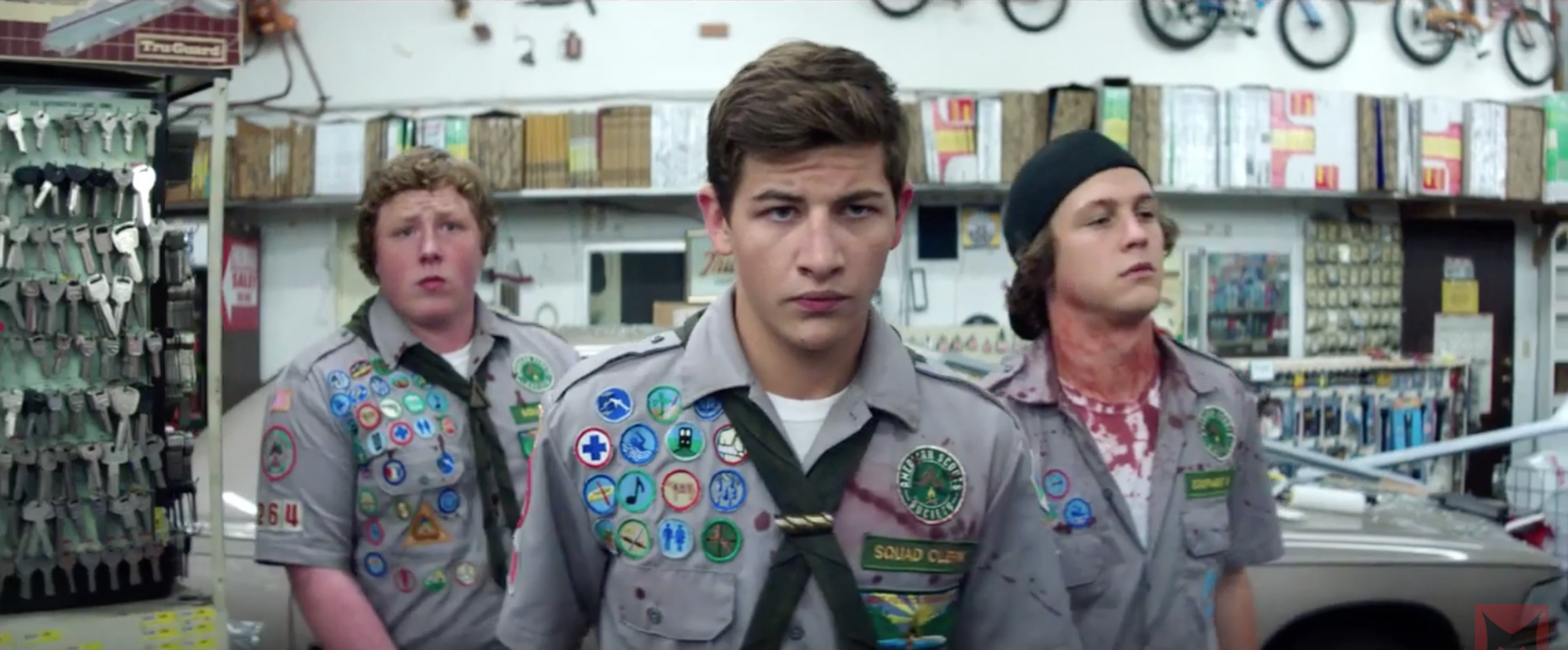 Scouts Guide to the Zombie Apocalypse Movie (2015)