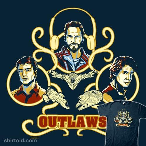 Outlaws t-shirt