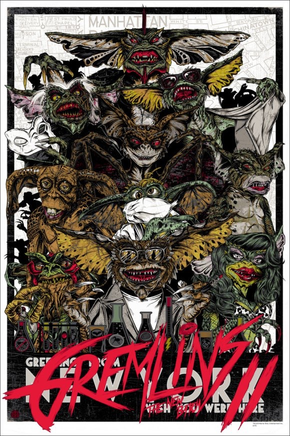MONDO TO RELEASE GREMLINS 2 PRINTS BY RHYS COOPER