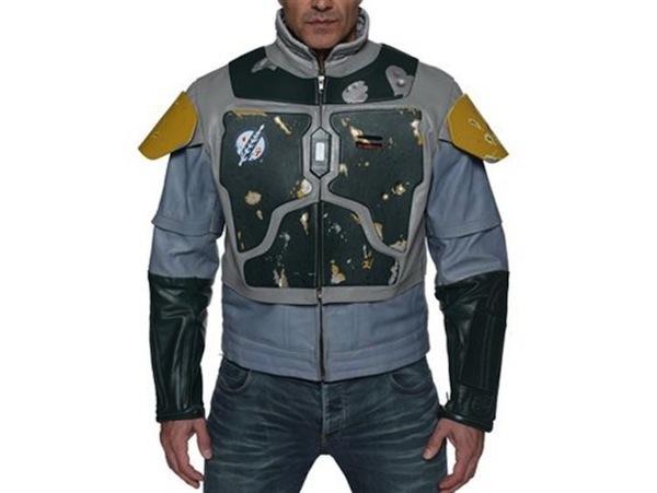 Boba Fett Leather Motorcycle Jacket