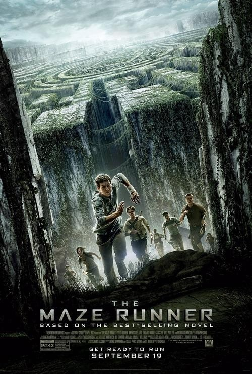 The Maze Runner poster comic con