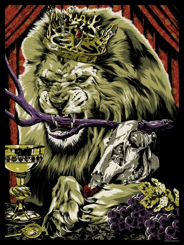 "Anthony Petrie ""Pride of King's Landing"" Print"