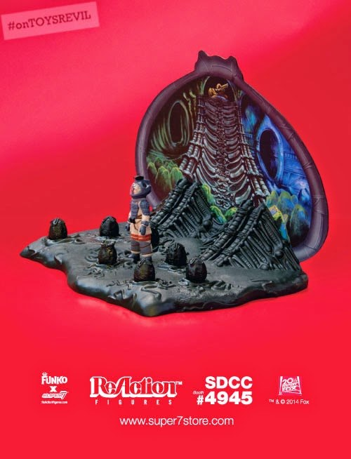Revealed: Alien Egg Chamber ReAction Playset by Super7 x Funko