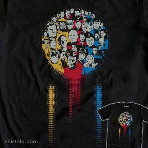 Iconic Trek t-shirt