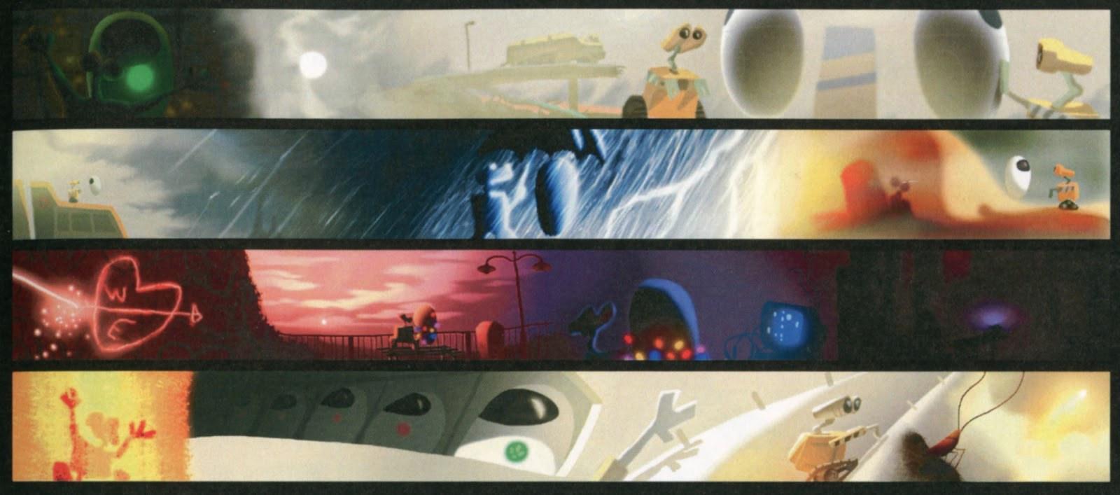 pixar color supercut video showcases the studios vivid