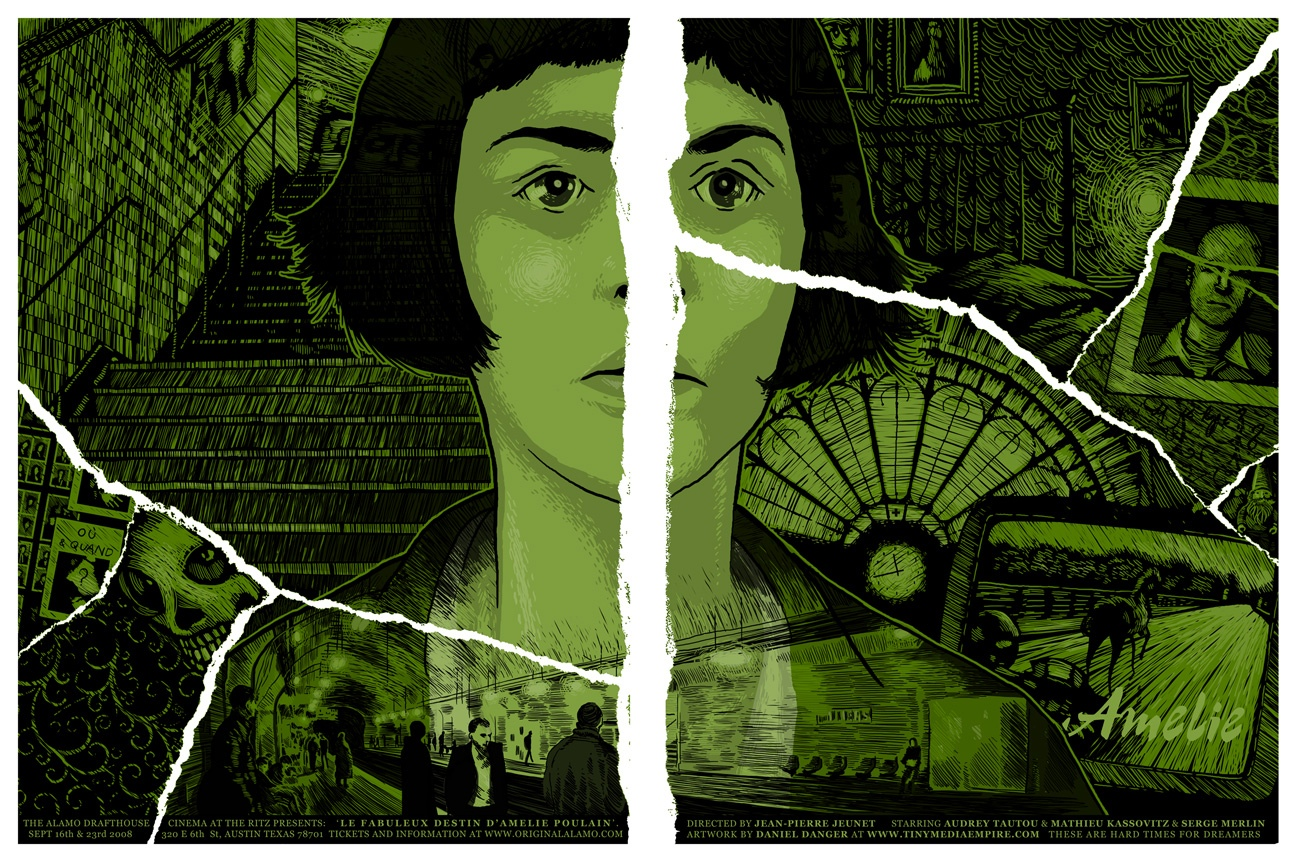 Line St Jean Art Et Design : Cool stuff daniel danger s amelie poster set u film