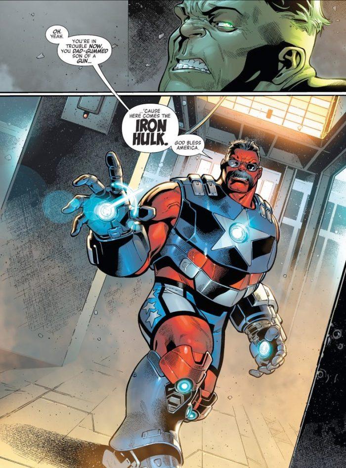 Avengers - Iron Hulk