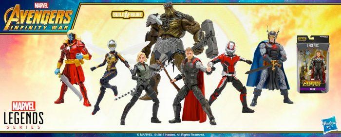 Avengers Infinity War - Marvel Legends Figures Wave 2
