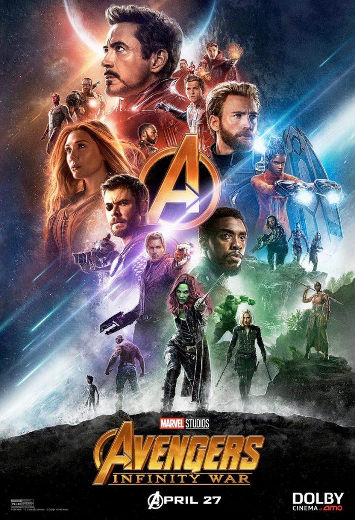 Paul Shipper Avengers Infinity War Poster