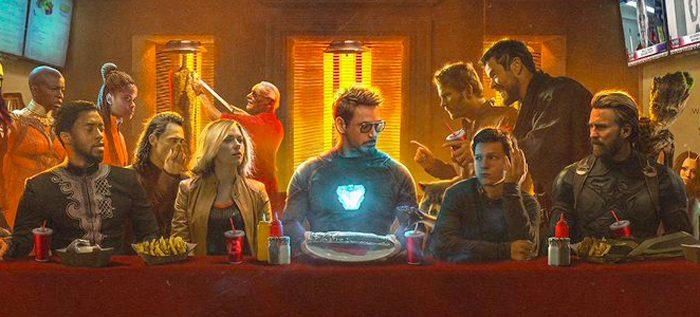 Avengers Infinity War Last Shawarma
