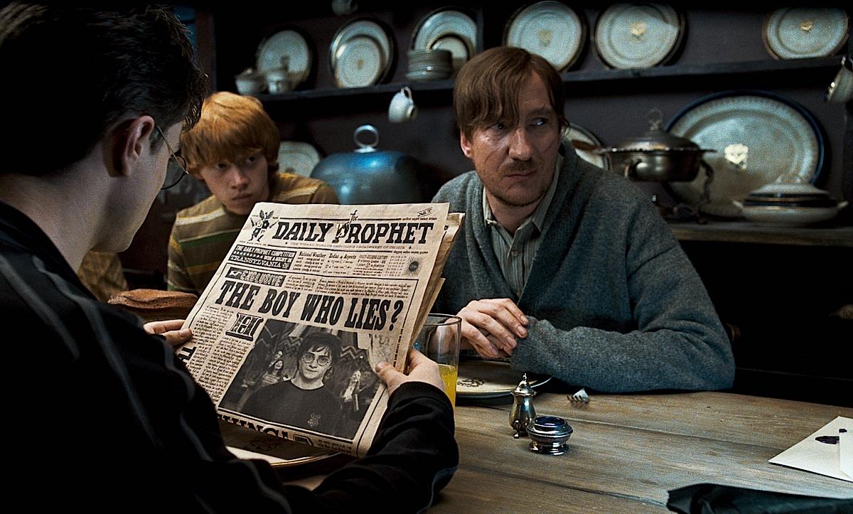 Harry potter spank