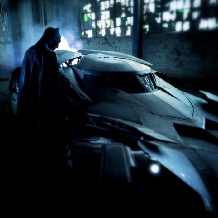 Batman v Superman - Batman and Batmobile