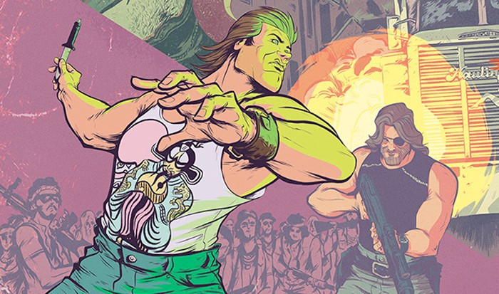 Big Trouble in Little China Escape from New York Comic