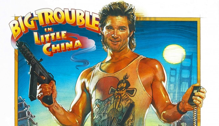 Big Trouble in Little China 35th anniversary print