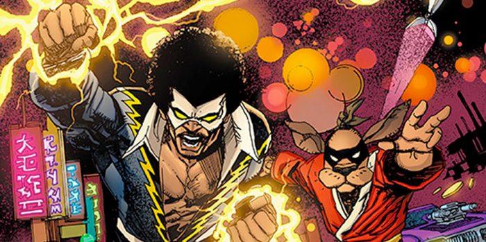 Black Lightning and Hong Kong Phooey Crossover