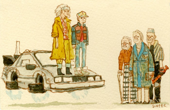 Back to the Future Part II - Great Showdown