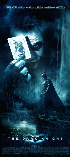 The Dark Knight Fan Poster