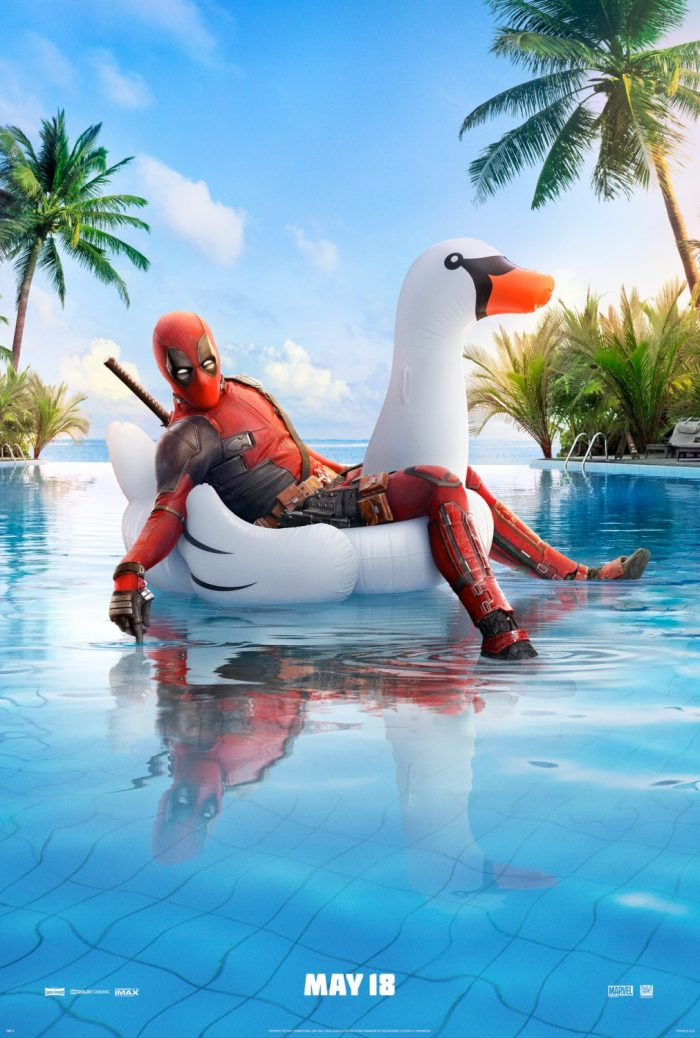 Deadpool 2 Poster - Swan Pool Poster