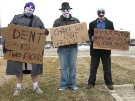 Dent Protestors