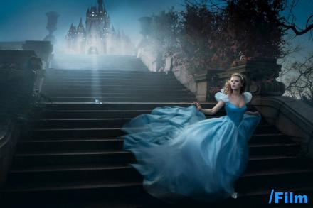 scarlett johansen hairstyles. scarlett johansen as cinderella, celebs dress up.