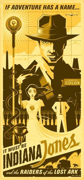 Eric Tan Indiana Jones Poster