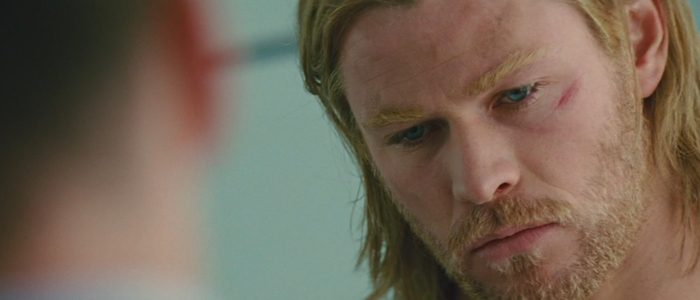 thor's dyed eyebrows