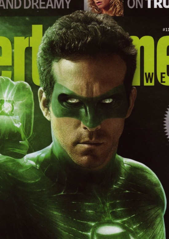 Green Lantern Tournage