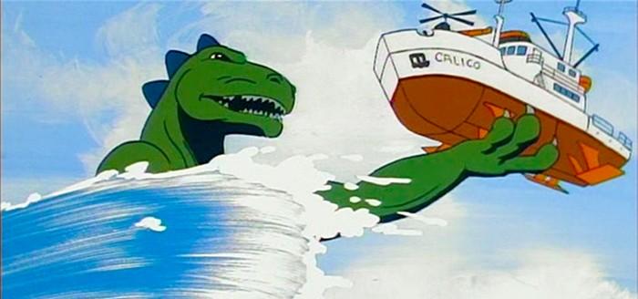 Animated Godzilla Movie